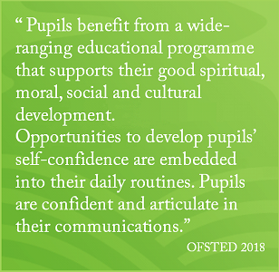 OFSTED 2018 P12